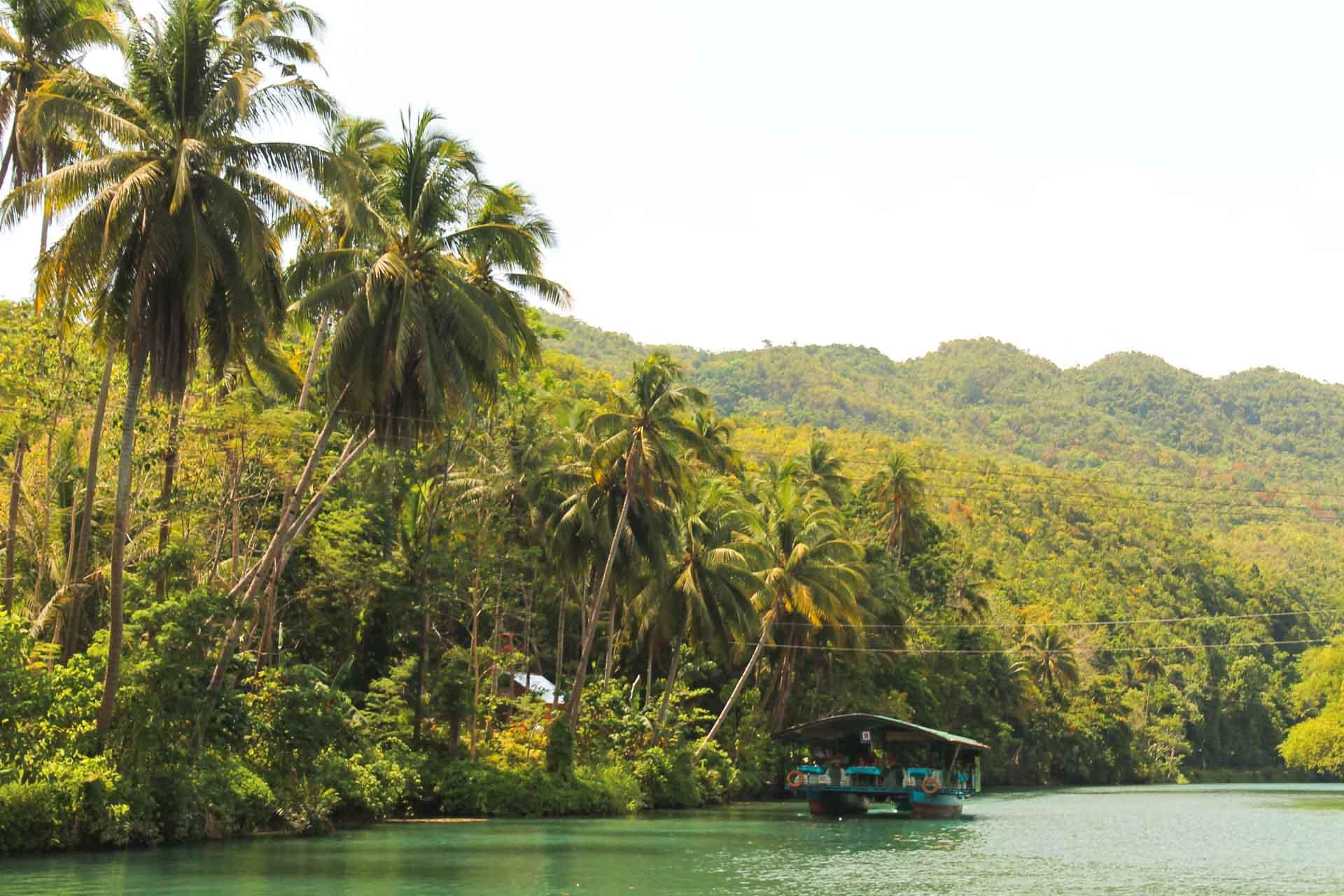loboor river Bohol