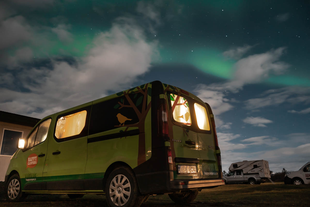 fabe541abb Renting a campervan is the answer. We traveled 8 days through Iceland with a  campervan of Happy Campers ...