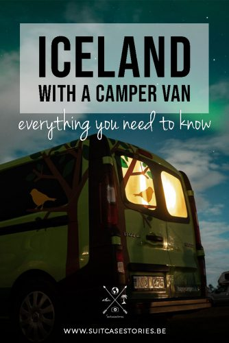 Iceland with a camper van - everything you need to know