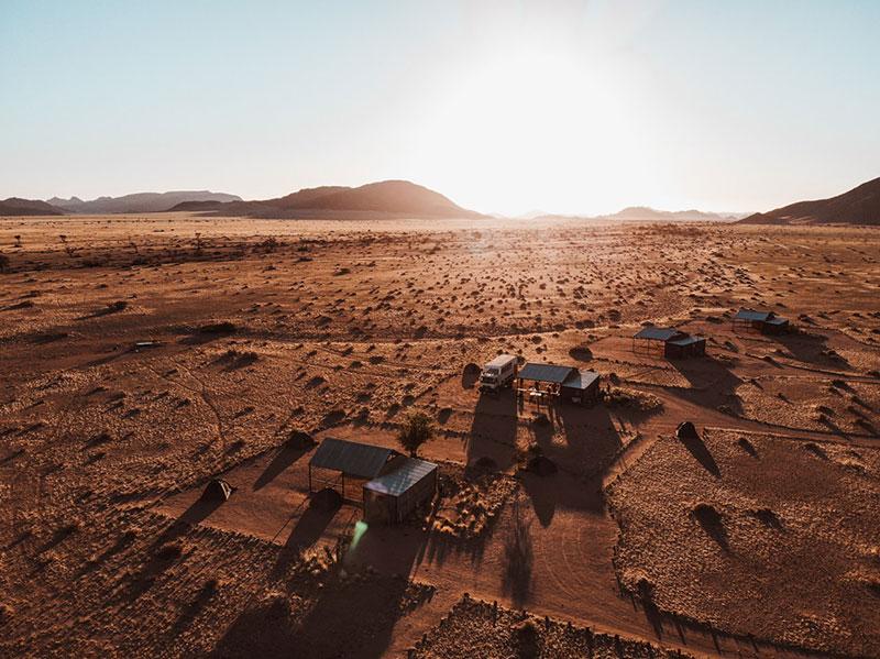 Namibie-campsite