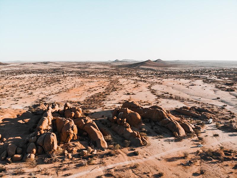 Namibia campsites spitzkoppe