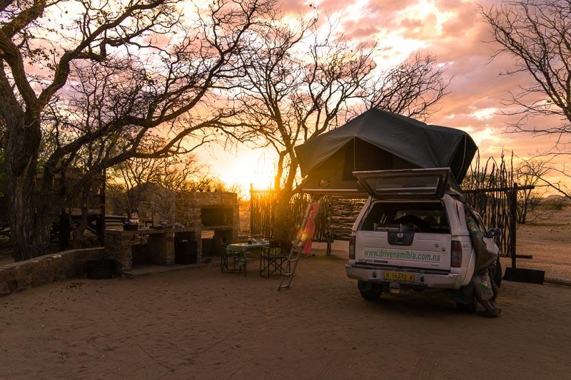 Madisa Camp sunset