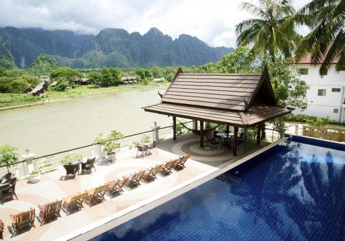 Silver Naga hotel Vang vieng
