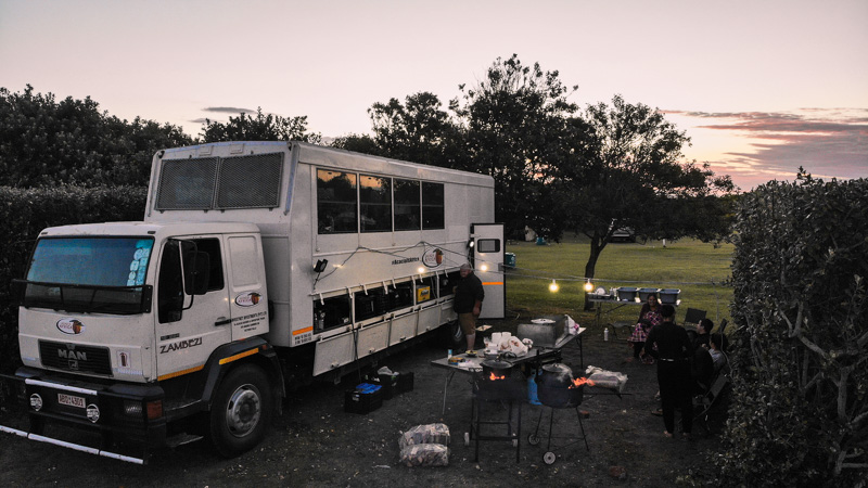 camping overland tour