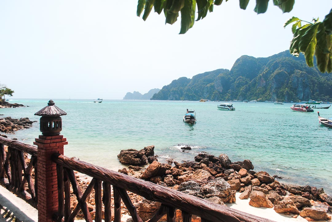 Koh Phi Phi Don - view from the bay