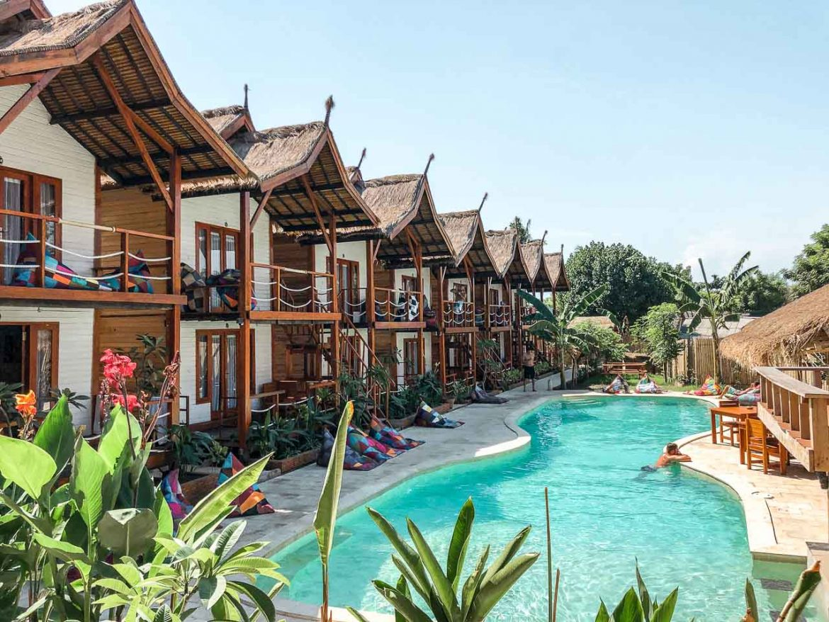 Gili Islands best hotels and hostels
