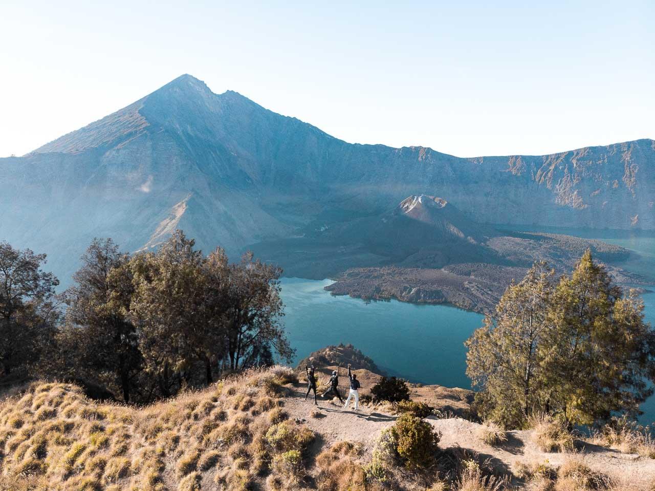 Mount Rinjani Lombok jump
