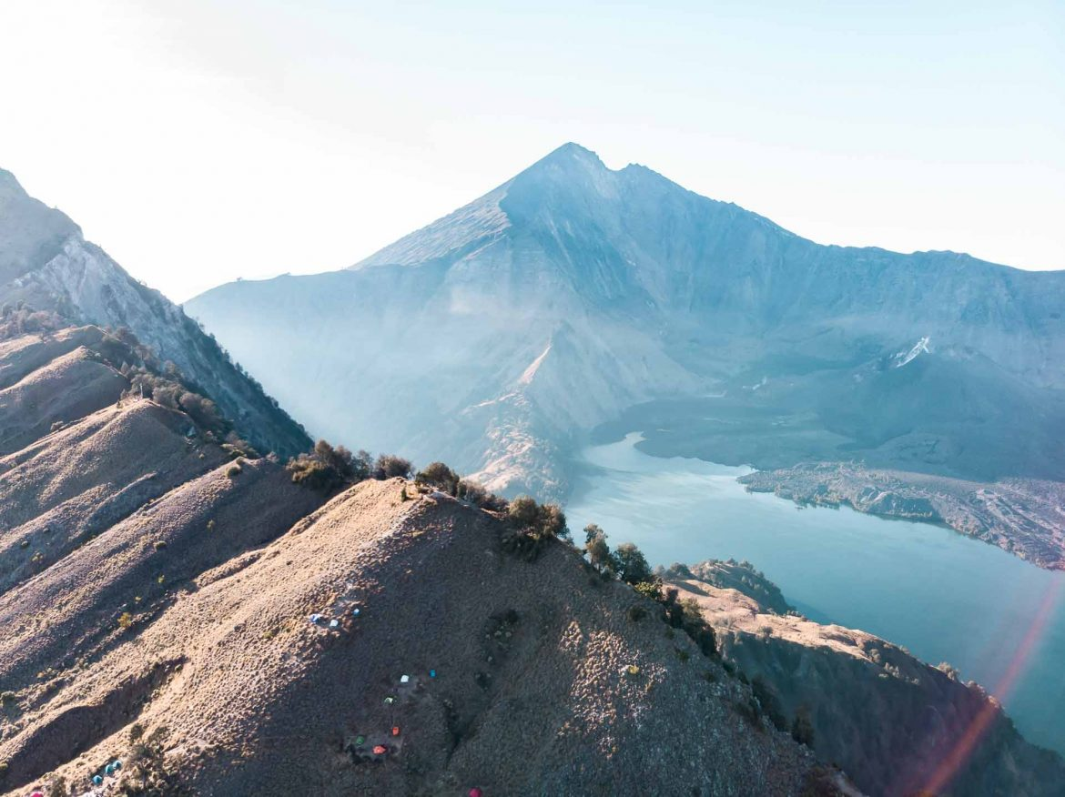 Must do: hike Mount Rinjani in Lombok