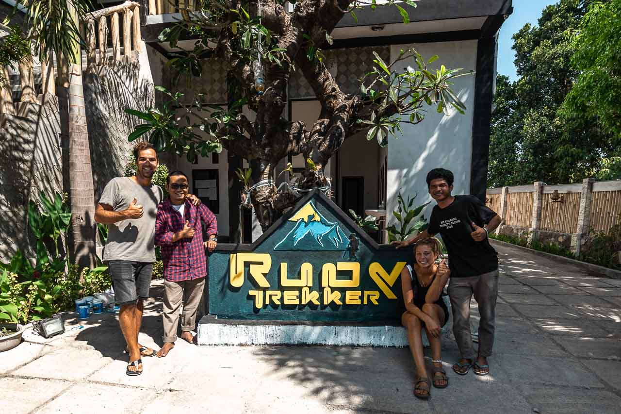 Rudy Trekker Rinjani Lombok