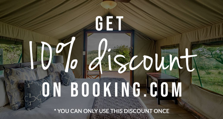 Discount on booking
