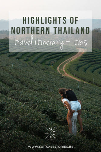 Highlights of Northern Thailand travel itinerary + tips