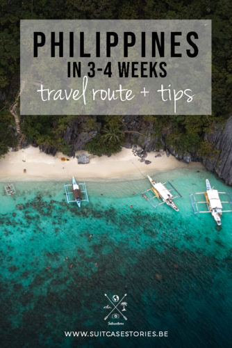 Philippines in 3-4 weeks travel route + tips